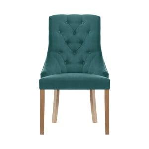 Turkusowe krzesło Jalouse Maison Chiara