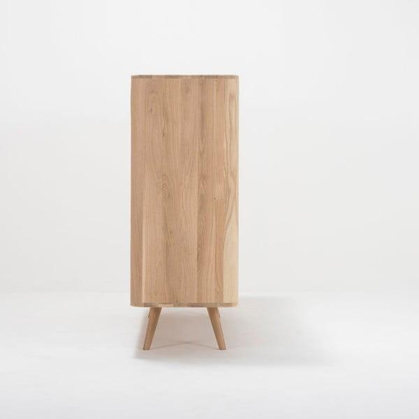 Komoda z drewna dębowego Gazzda Ena Two, 180x110 cm