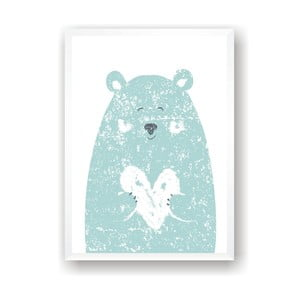 Plakat Nord & Co Small Bear, 50x70 cm