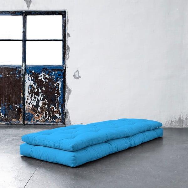 Fotel rozkładany Karup Buckle Up Horizon Blue