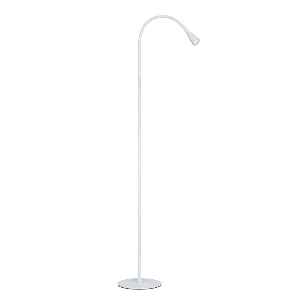 Biała lampa stojąca Markslöjd Snake