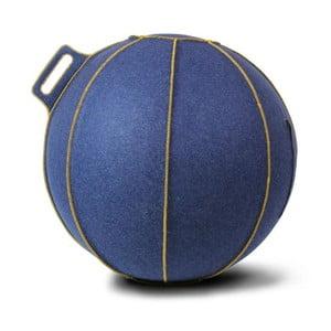 Piłka do siedzenia VLUV 65 cm, filc niebieski