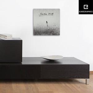 Tablica magnetyczna Eurographic Silver Shine, 30x30 cm
