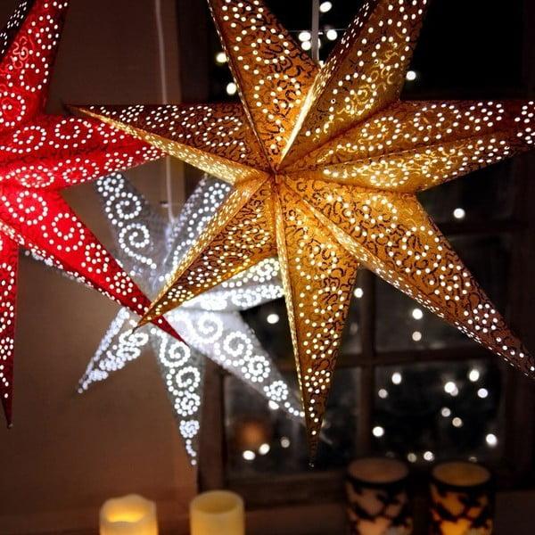 Gwiazda dekoracyjna Five Black, 60 cm