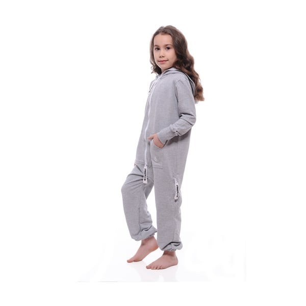 Dziecięcy kombinezon Summer Light Grey, 6-7 lat
