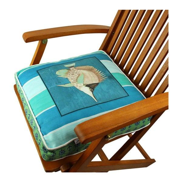 Poduszka na krzesło z wypełnieniem Aachen, 42x42 cm