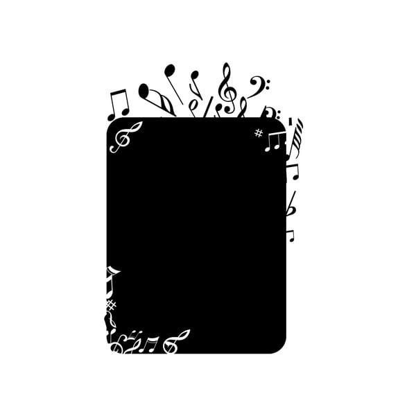 Dekoracyjna tablica samoprzylepna Note