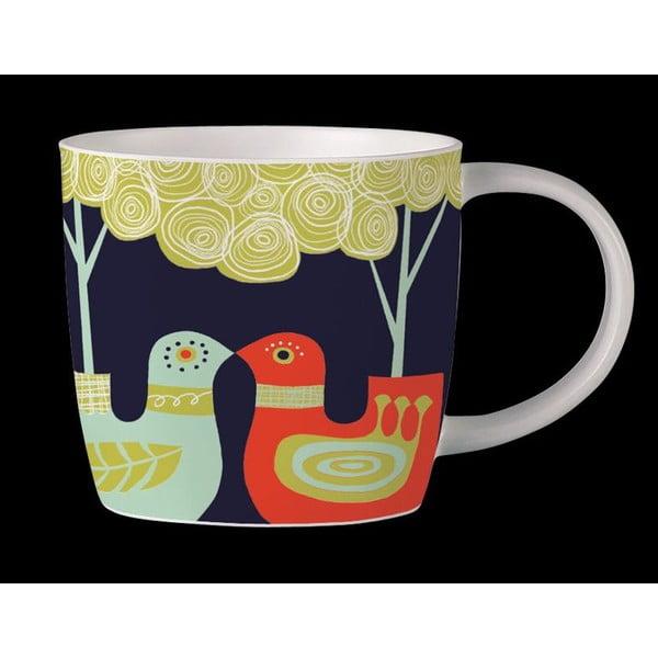 Kubek z angielskiej porcelany Folkland Love Birds