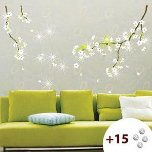 Naklejka z 15 kryształkami Swarovski Fanastick Pear Tree