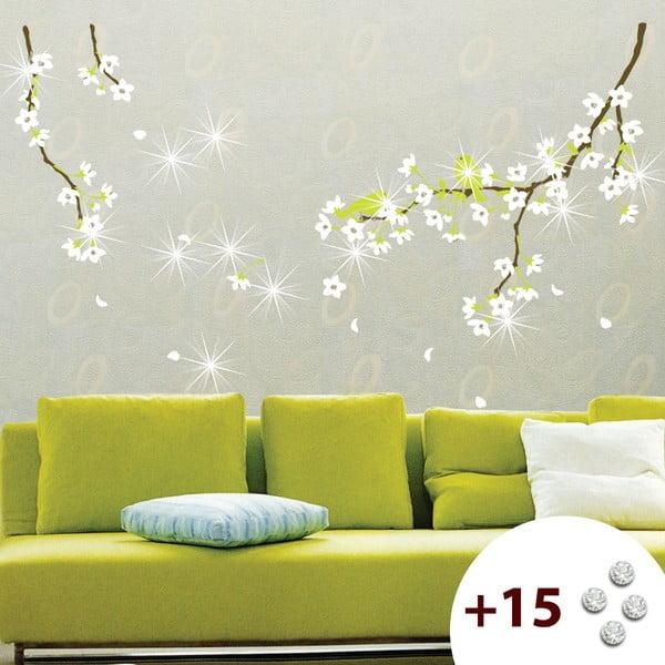 Naklejka z 15 kryształami Swarovski Ambience Pear Tree