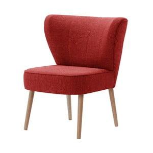 Czerwony fotel My Pop Design Adami