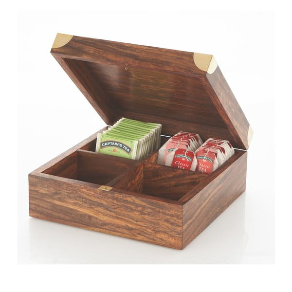 Pudełko na herbatę Artesania Esteban Ferrer Tea Sea