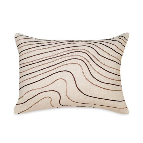 Poduszka Waves White, 35x50 cm