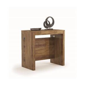 Stół rozkładany z dekorem ciemnego dębu Terraneo, od 45 do 190 cm