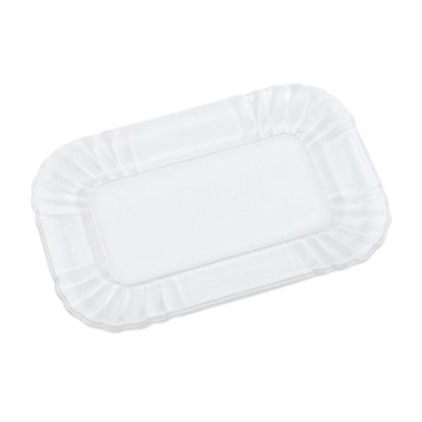 Szklany talerzyk Kaleidos, przezroczysty