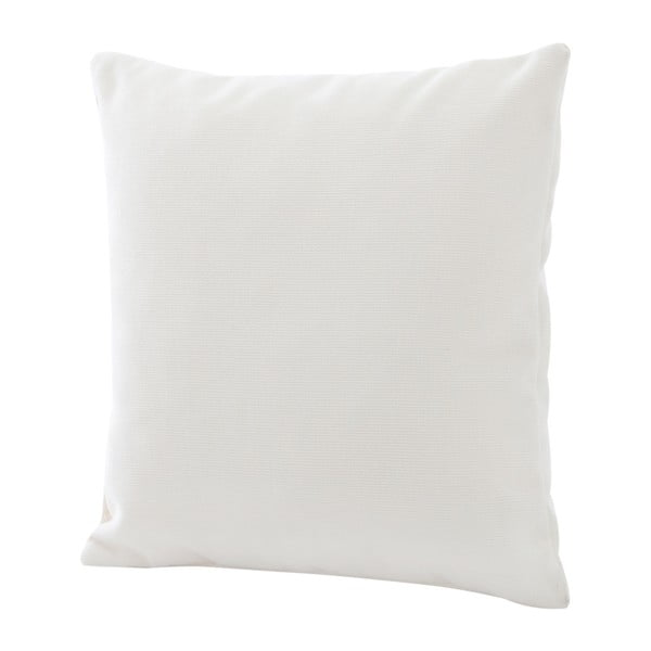Kremowa poduszka z wypełnieniem Max Winzer Prag, 55x55 cm