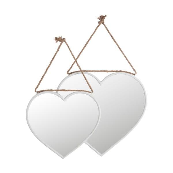 Zestaw 2 luster Clear Heart