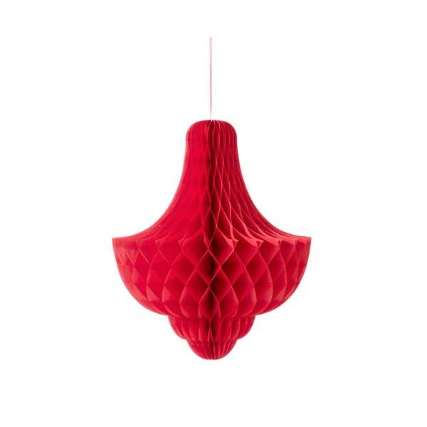 Papierowa dekoracja Giant Bubble Red XL