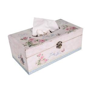 Box na kapesníky Antic Line Vitage Rose