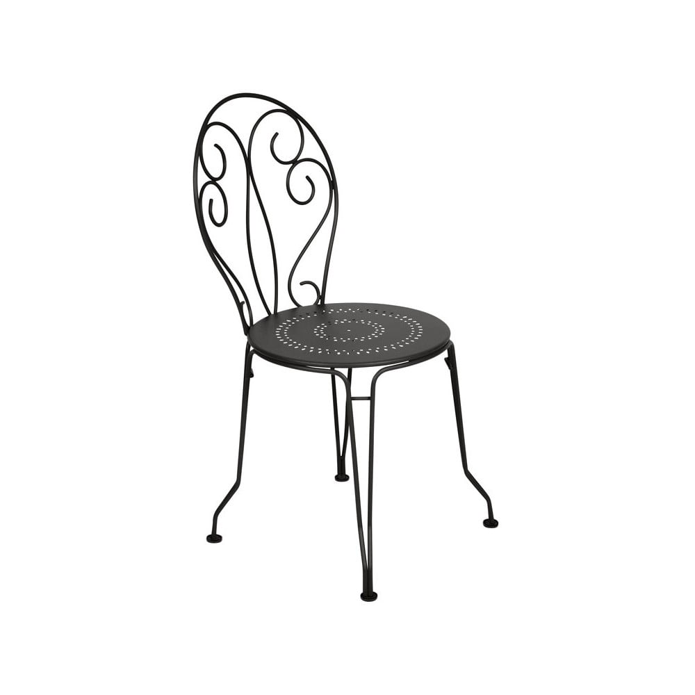 Czarne Krzesło Metalowe Fermob Montmartre Bonami