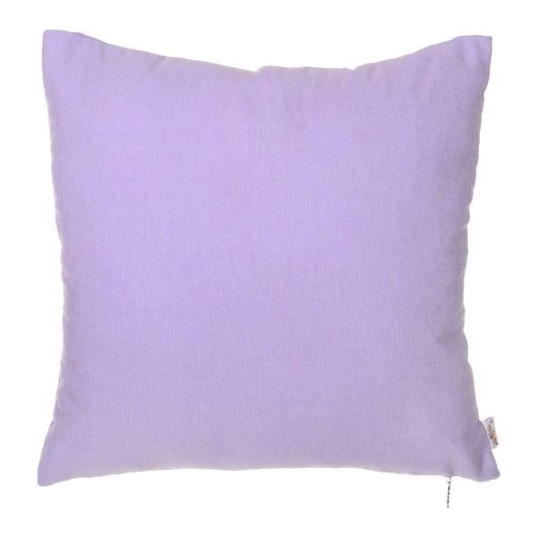 Fioletowa poszewka na poduszkę Denise 40x40 cm