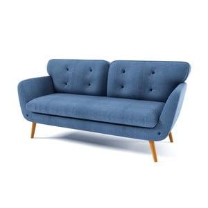 Jasnoniebieska   sofa trzyosobowa Wintech Alva Kair