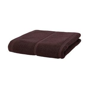 Brązowy ręcznik Aquanova Adagio, 70x130 cm