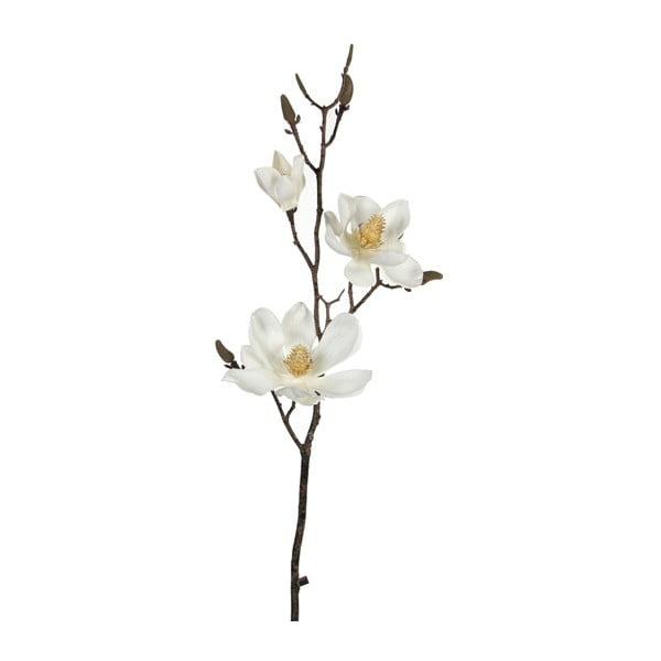 Sztuczny kwiat Magnolia Cream, 80 cm