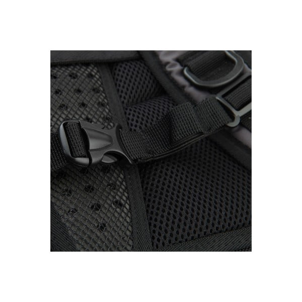 Plecak studencki Pixelbag, szary/czarny