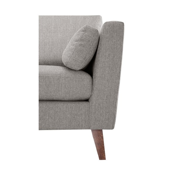 Ciemnoszary fotel Elisa