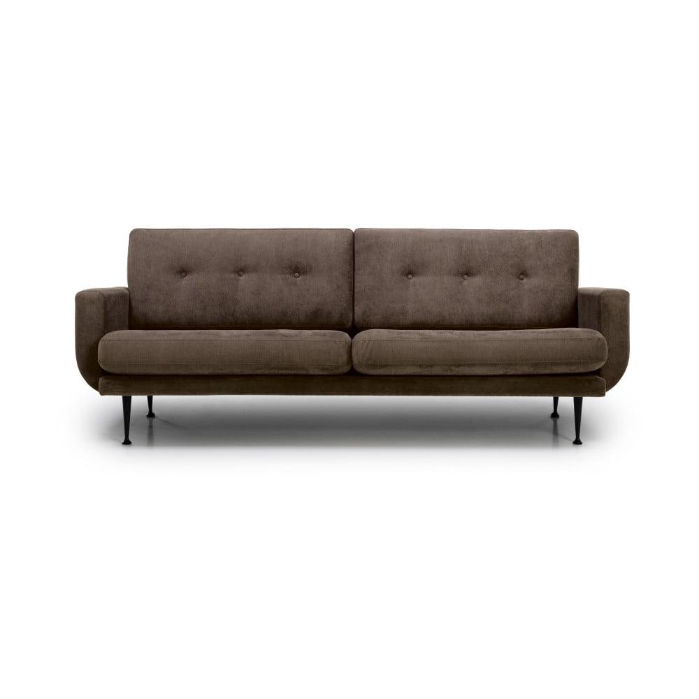 Brązowa sofa 3-osobowa Softnord Fly