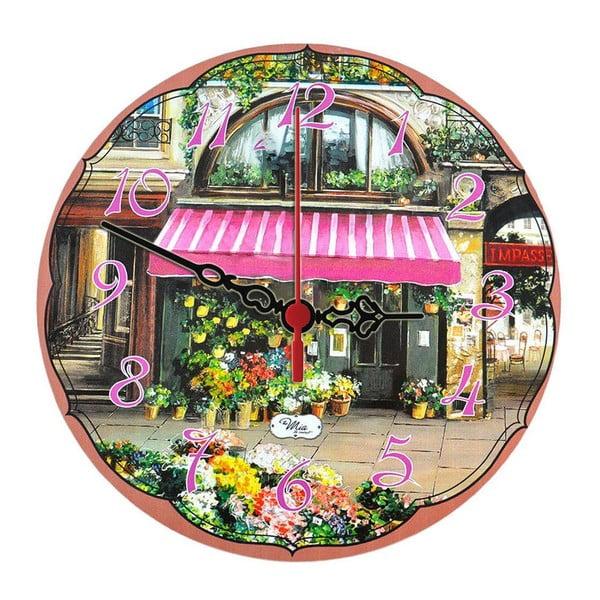 Zegar ścienny Flower Stall, 30 cm