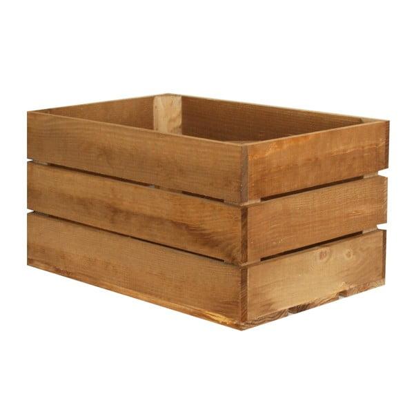 Skrzynka Caja Rustica Envejecido, 50x25x30 cm