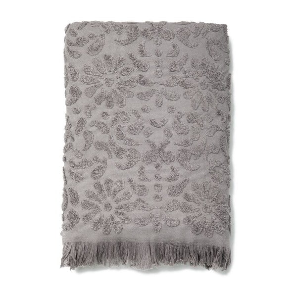 Zestaw 2 ręczników Riad Face Grey, 50x90 cm