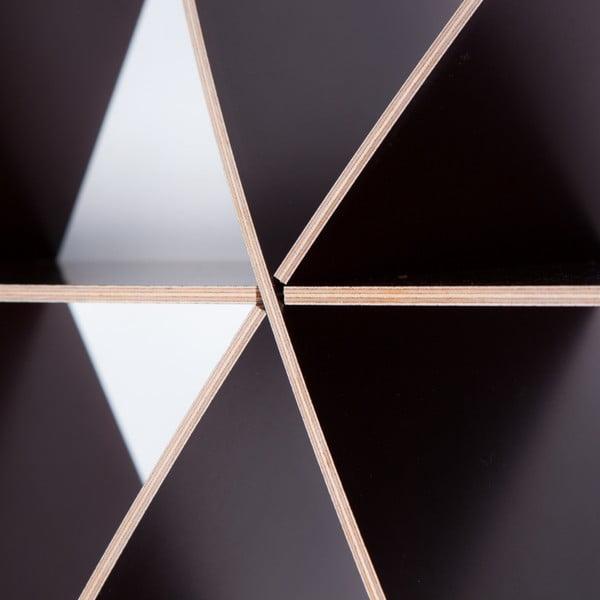 Półka ścienna Medium Comb Black