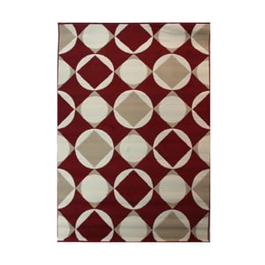 Czerwony dywan Flair Rugs Carnaby Element Red, 120x170cm