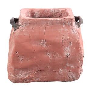 Doniczka Dull 15 cm, różowa