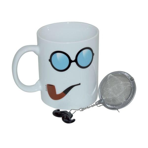 Kubek z sitkiem do herbaty Moustache