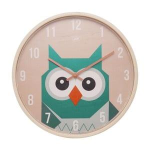 Zegar ścienny Geo Owl, 30 cm