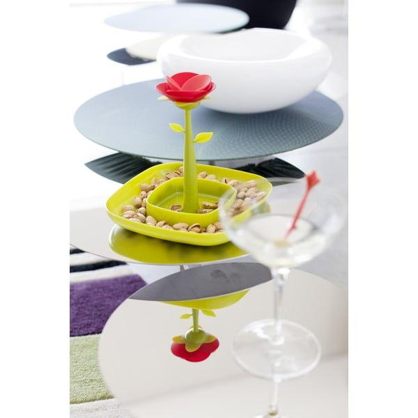 Zielona tacka na smakołyki Vigar Cocktail Rose