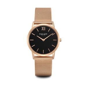 Zegarek damski w kolorze różowego złota z czarnym cyferblatem Eastside Upper Union