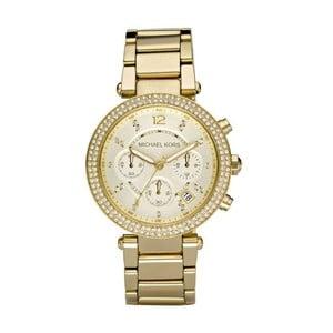 Zegarek damski w kolorze złota z kamyczkami Michael Kors Parker