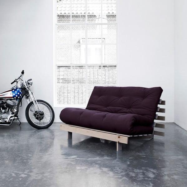 Sofa rozkładana Karup Roots Raw/Purple