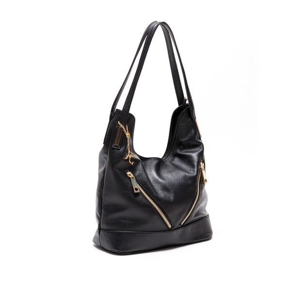 Skórzana torebka Renata Corsi 2111 Nero