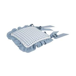 Poszewka na poduszkę na krzesło Basic Hearts 40x40 cm, niebieska