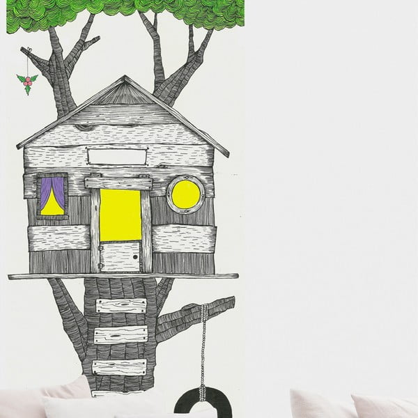 Naklejka Tree House, 110x190 cm