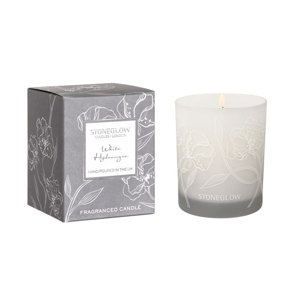 Świeczka o zapachu białej orchidei Stoneglow, 35 h