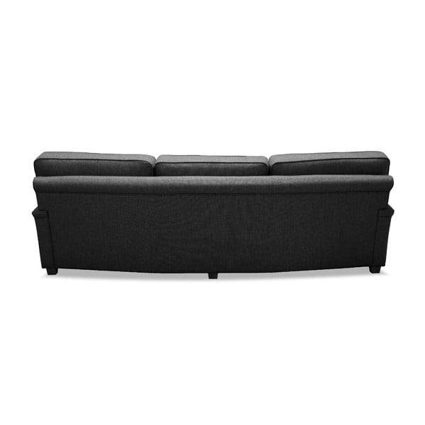 Ciemnoszara  sofa VIVONITA William