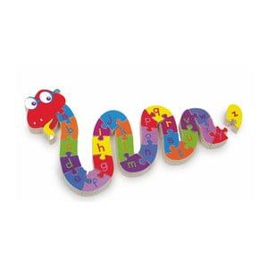 Puzzle edukacyjne Legler ABC Snake