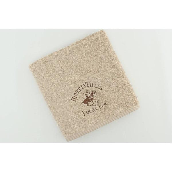 Ręcznik bawełniany BHPC 50x100 cm, beżowy
